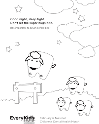 printable coloring sheets from my kid u0027s dentist and every kid u0027s