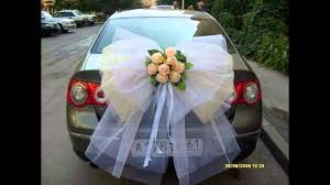 beautiful wedding car decorations youtube