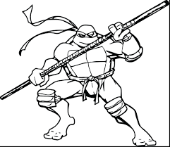 ninja turtle coloring page turtles pages kids archives sheets