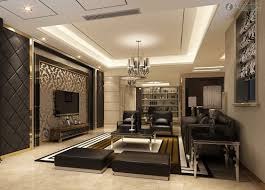 Decorate Large Living Room by Home Interior And Exterior Design