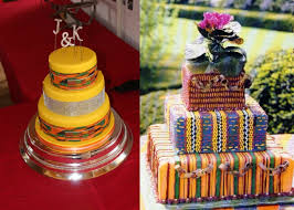 collections of african traditional wedding cakes gallery