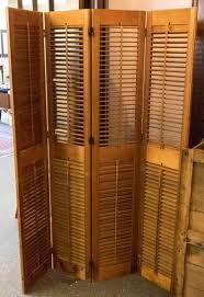 Shutter Room Divider Original Shutter Room Divider Strangetowne Shutter Room