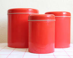 pink kitchen canisters kitchen canister set etsy