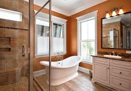 What Colors Go With Burnt Orange 10 Ways To Add Color Into Your Bathroom Design Freshome Com