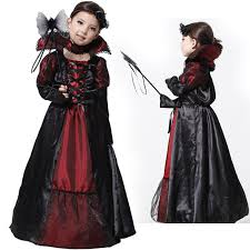 Vampire Halloween Costumes Kids Girls Cheap Vampire Queen Halloween Costume Aliexpress