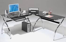 glass computer desk office depot desks furniture