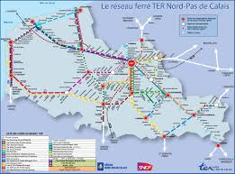 Italy Map By Rail Italy by Nord Pas De Calais Rail Map