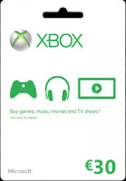 xbox live gift cards xbox live gift card 30 eur price from 34 45 xxlgamer