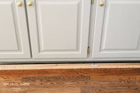 how to trim cabinets how to get a custom cabinet look using trim sincerely