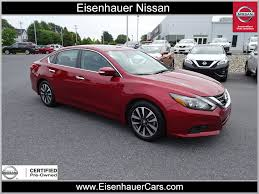 nissan altima coupe with red interior for sale used 2016 nissan altima for sale in wernersville pa serving
