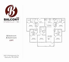 the balcony offers luxuxry downtown student apartments in
