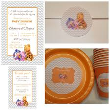 winnie the pooh baby shower supplies