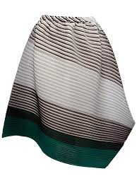 Draped Skirts Authentic Pleats Please By Issey Miyake Clothing Asymmetric Draped
