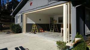 Garage With Carport Carport To Garage Conversion Overhead Door Of Georgia