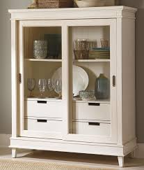 Cabinet With Sliding Doors Sliding Door China Display Cabinet By Liberty Furniture Wolf And