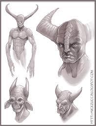 nick zuccarello u0027s art blogspot demon sketch pencil ps
