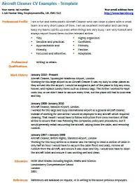 Cleaner Sample Resume Cleaning Job Resume Sample Resume Housekeeping Housekeeping Job