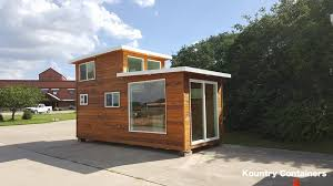 tiny container homes tiny house town kountry containers loft home