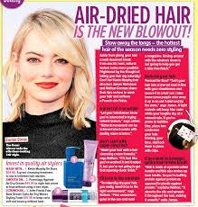 hair styles for air drying pressreader woman s day australia 2017 10 09 air dried hair