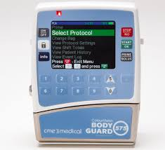 bodyguard colourvision 575 pca infusion pump cme medical
