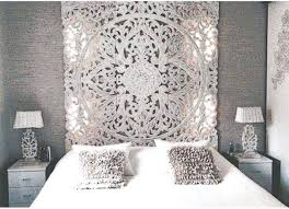 Carved Wood Headboard Carved Wood Headboard Home Accessory Bedding Bedroom Bohemian