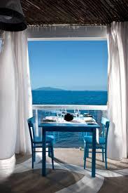 il riccio u2013 stylish waterfront restaurant in capri idesignarch