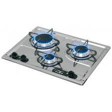 plaque cuisine gaz plaque de cuisson gaz 3 feux achat electronique