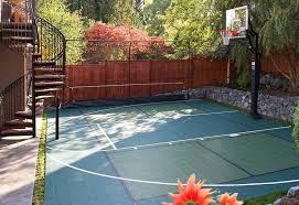 Basketball Court In The Backyard 6 Landscaping Projects That Could Get You In Legal Trouble Porch