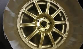 painting sti wheels gold nasioc