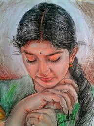 colour pencil sketch చ త రల ఖన indian paintings art