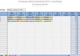 monthly schedule template excel sample u2013 pccatlantic spreadsheet