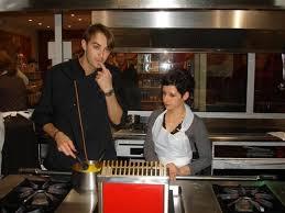 offrir un cours de cuisine avec cyril lignac latabledesandrine