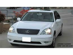 white lexus ls430 for sale 2002 lexus ls430 for sale classiccars com cc 1013523