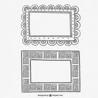 ornament frame free vector graphic free found 19 019
