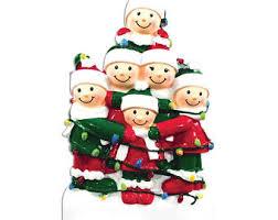 big family ornaments etsy
