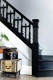 black staircase black stair railing ideas design interior decoration aluminum kit
