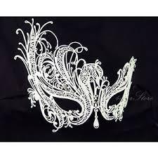 black and white masquerade mask white swan masquerade mask snow white handcrafted masquera