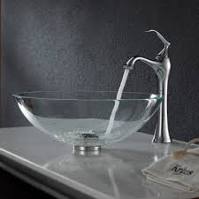bathroom vessel vanity vessel sink and faucet combo kohler