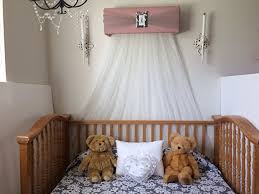 Dusty Pink Curtains Amazon Com Crib Canopy Bed Crown Bella Teester Princess Dusty