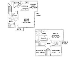 townhome floor plans floor plans of heritage landing apartments flats townhomes