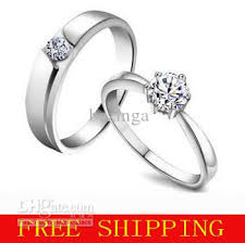 ring engaged 2017 925 sterling silver wedding ring rhinestone diamond