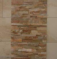 Natural Stone Bathroom Tile Natural Stone Effect Wall Tiles Roselawnlutheran