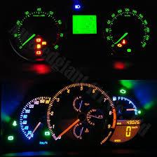 honda crv 2009 warning lights on dashboard 10pcs green white red blue dash t5 led socket instrument panel light