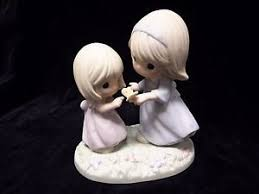 precious moments figurine 2006 sister gift heart ebay