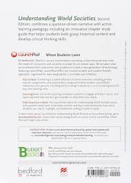 buy understanding world societies launchpad 6 month access 1