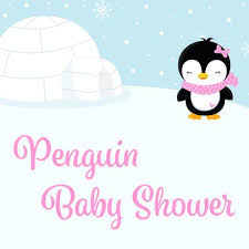 penguin baby shower girl baby shower themes celebrate crafts