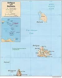 Map Of The Caribbean Islands by Island And City Maps The Caribbean Stadskartor Och Turistkartor