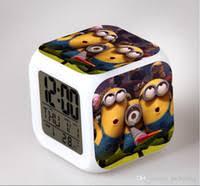 wholesale minion lights alarm clock buy cheap minion lights