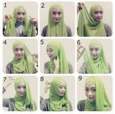 tutorial hijab paris ke pesta cara memakai jilbab kreasi jilbab paris untuk ke pesta hijabers