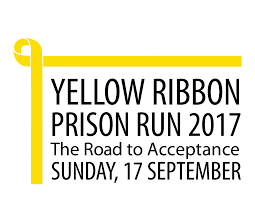 black and yellow ribbon yellow ribbon prison run 2017 just run lah